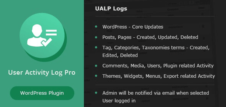 Item cover for download User Activity Log PRO for WordPress