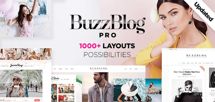 Item cover for download Buzz - Lifestyle Blog  Magazine WordPress Theme