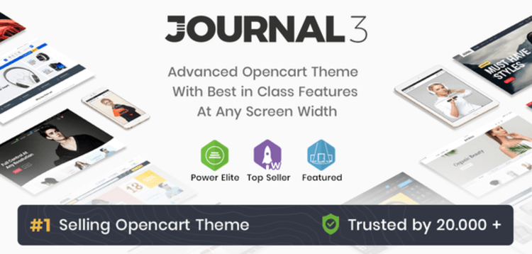 Item cover for download Journal - Advanced Opencart Theme