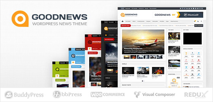 Item cover for download Goodnews – Responsive WordPress News/Magazine