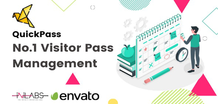 Item cover for download QuickPass: Visitor Pass Management System