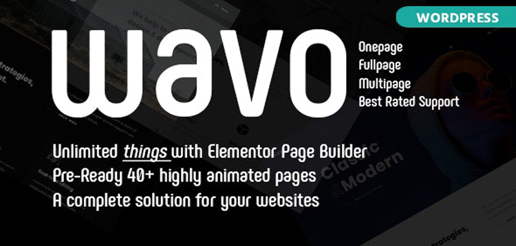 Item cover for download Wavo - Creative Portfolio & Agency Theme