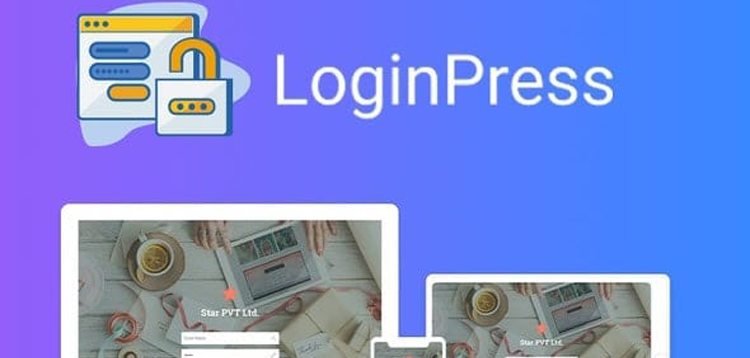 Item cover for download LoginPress Login Widget