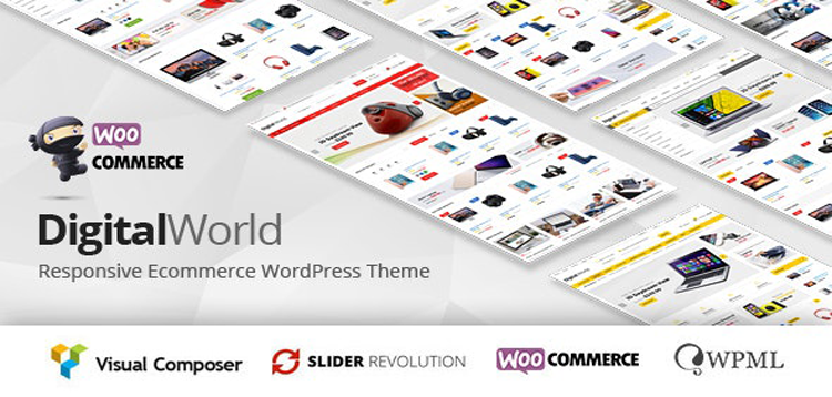 Item cover for download Digitalworld - Electronics & Multipurpose WooCommerce Theme ( RT Supported)