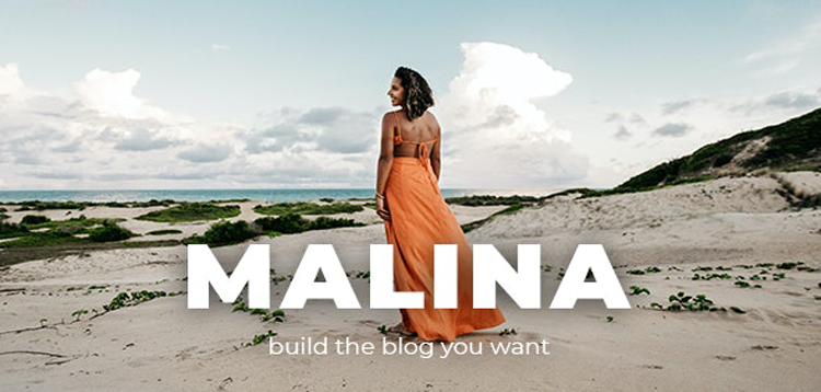 Item cover for download Malina - Personal WordPress Blog Theme