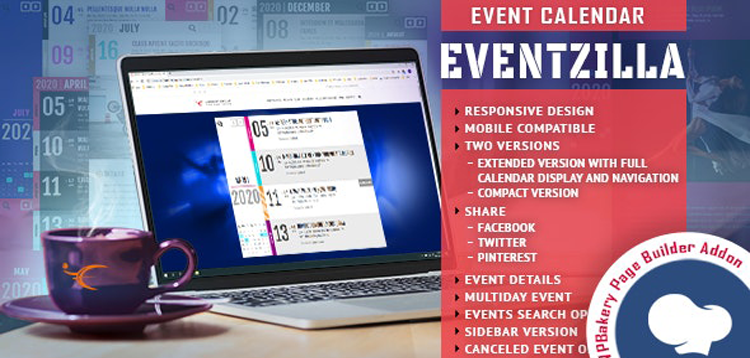 Item cover for download EventZilla - Event Calendar - Addon For WPBakery Page Builder