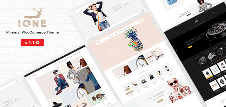 Item cover for download iOne - Minimal Responsive WooCommerce Theme