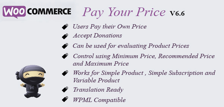 Item cover for download WooCommerce Pay Your Price