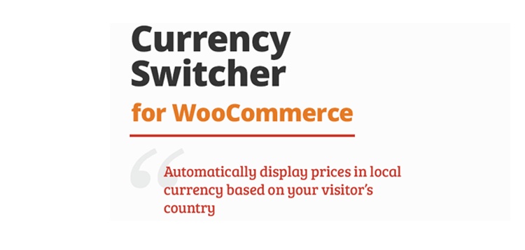 Item cover for download Aelia - Currency Switcher for WooCommerce
