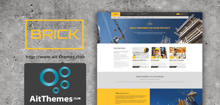 Item cover for download AIT - Brick WordPress Theme