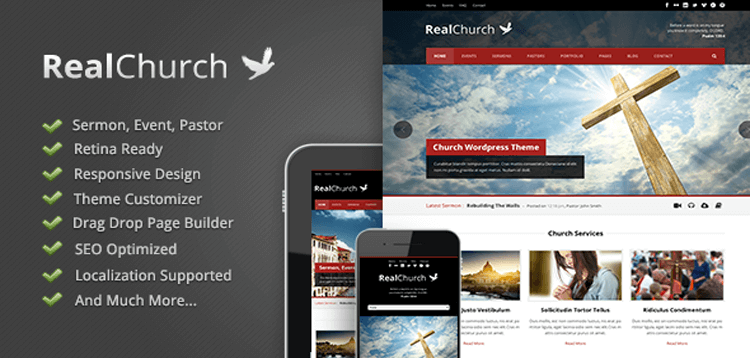 Item cover for download Real Church - Responsive Retina Ready Theme