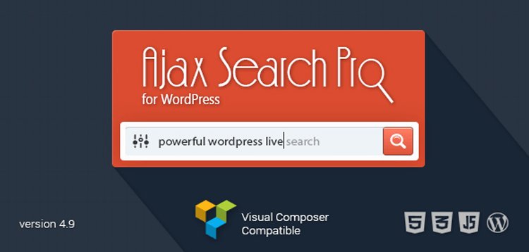 Item cover for download Ajax Search Pro - Live WordPress Search  Filter Plugin