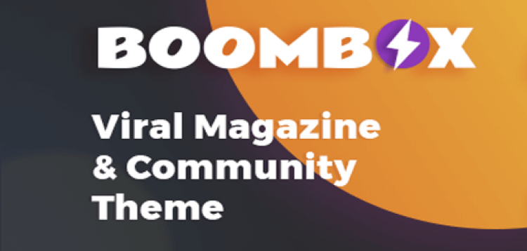 Item cover for download BoomBox - Viral  Buzz WordPress Theme