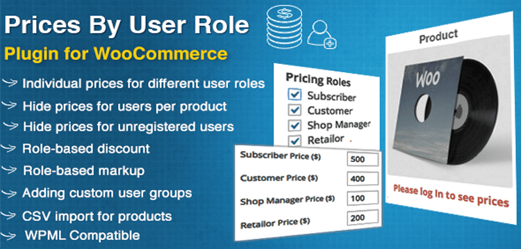 Item cover for download WooCommerce Prices By User Role